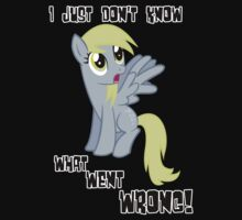 Derpy Hooves - What Went Wrong One Piece - Long Sleeve