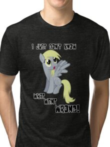 Derpy Hooves - What Went Wrong Tri-blend T-Shirt