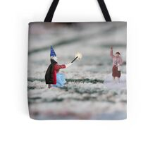 The hat, cape and wand do not make you a magician Thomas, and you have NOT discovered Instagram! Tote Bag