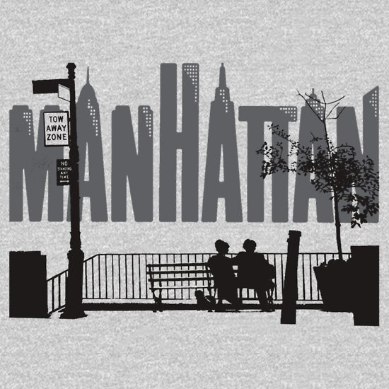 TShirtGifter presents: Manhattan | Unisex T-Shirt