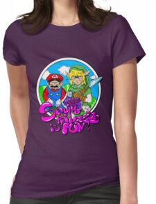 Saving Princesses Is Fun Womens Fitted T-Shirt