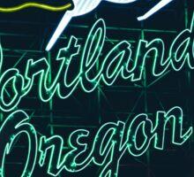 Made In Portland Oregon Sticker