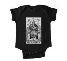 The Emperor Tarot Card - Major Arcana - fortune telling - occult One Piece - Short Sleeve