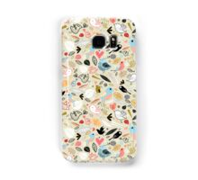 pattern of funny birds Samsung Galaxy Case/Skin