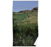 Hillside Ullswater Poster