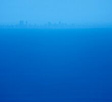 blue across the bay by metriognome