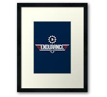 Endurance Top Gun Framed Print