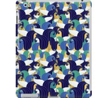 abstract pattern from leaves iPad Case/Skin