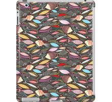 bright autumn pattern of fish and leaves iPad Case/Skin