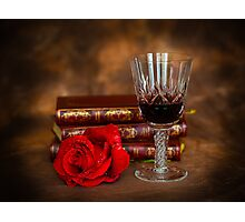 Red, Red Wine Photographic Print
