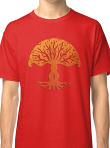 Tree of Life, Woodcut (viviána) Classic T-Shirt