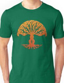 Tree of Life, Woodcut (viviána) Unisex T-Shirt