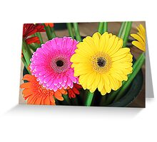 Flowers - HDR Greeting Card