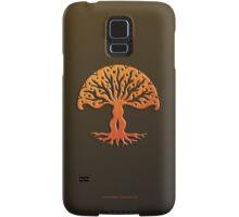Tree of Life, Woodcut (viviána) Samsung Galaxy Case/Skin