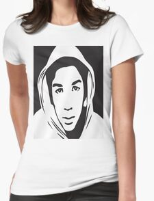 Trayvon Martin T-Shirt (Jamie Foxx As Seen On TV)  Womens Fitted T-Shirt