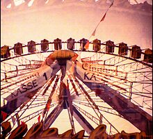 Ferris Wheel Double nr.2 by lucie richter