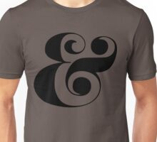 Ampersand (Eloquent Swash) Unisex T-Shirt