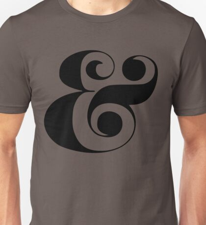 Ampersand (Eloquent Swash) Unisex T-Shirt