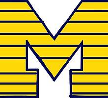 Block M - University of Michigan by laurenmoe