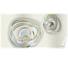 Abstract roses Poster