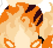 Pixel Arcanine Sticker