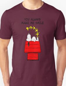 Snoopy Smiling Unisex T-Shirt
