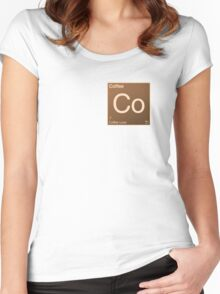 Coffee Element Women's Fitted Scoop T-Shirt