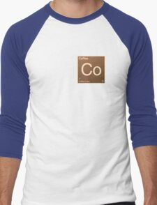 Coffee Element Men's Baseball ¾ T-Shirt