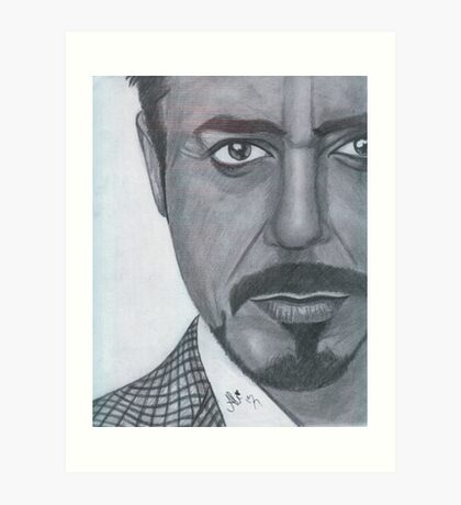 Robert Downey Jr. Art Print
