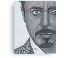 Robert Downey Jr. Canvas Print