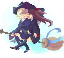 Diana and Akko by Jenny Ma
