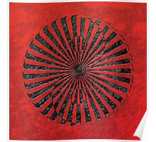 yin yang in stone (zahyíng) Poster