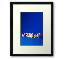 The great Jelly Baby Massacre! Framed Print