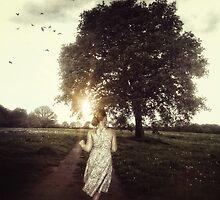 la fille et l'arbre by Nicola Smith
