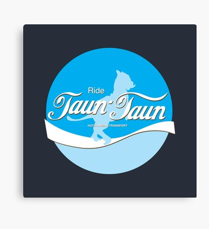 Ride TaunTaun Canvas Print