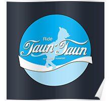 Ride TaunTaun Poster