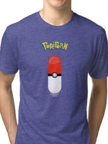 Poképorn - Pokédildo T Tri-blend T-Shirt