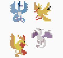Mini Legendary Flyers - Set of 4 by pixelatedcowboy