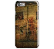 Old house ghosts iPhone Case/Skin