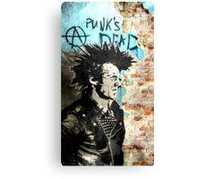 Punk is dead Canvas Print