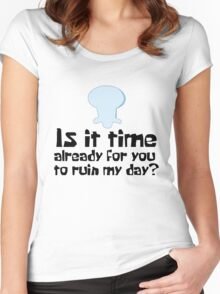 Is it time?? Women's Fitted Scoop T-Shirt