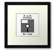 Floppy Fun Framed Print