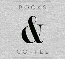 books & coffee Unisex T-Shirt