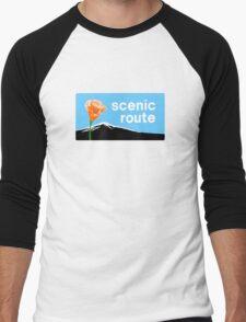 Scenic route Men's Baseball ¾ T-Shirt