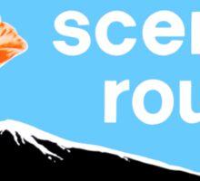Scenic route Sticker