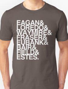 SENIOR TEACHERS WHITE FONT Unisex T-Shirt