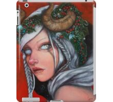Hel Mother of Krampus  iPad Case/Skin