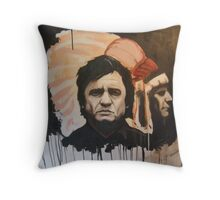 CASH and Indian Throw Pillow
