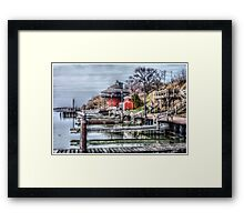The Docks Framed Print