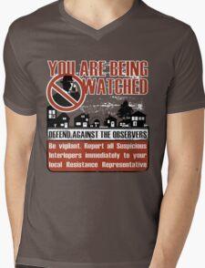 Resist Mens V-Neck T-Shirt